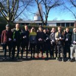 Stockport silver medal winners Northern Athletics 12 stage road relay championships 2018