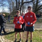 Salford silver medals in the 5k team championship