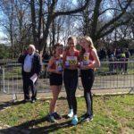 Under 15 Girls team winners Salford
