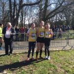 Liverpool Harriers bronze team medals in under 15 girls championship