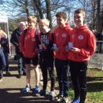Salford, silver medal winners in the under 17 men championship
