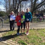 Under 15s girls medal winners 1st: Megan Dingle, Vale Royal, 2nd: Faye O'Hare, Liverpool Harriers 3rd: Grace Sullivan, Cleethorpes & District