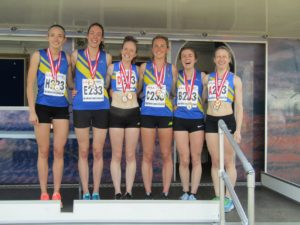 Leeds City National 6 stage women's champions 2018