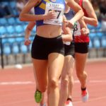 Lucy Crookes (Leeds City AC)on her way to victory in the senior womens 5000 metres, Northern Senior and Under-20s Champs., Sports City, Manchester. Photo: David T. Hewitson/Sports for All Pics