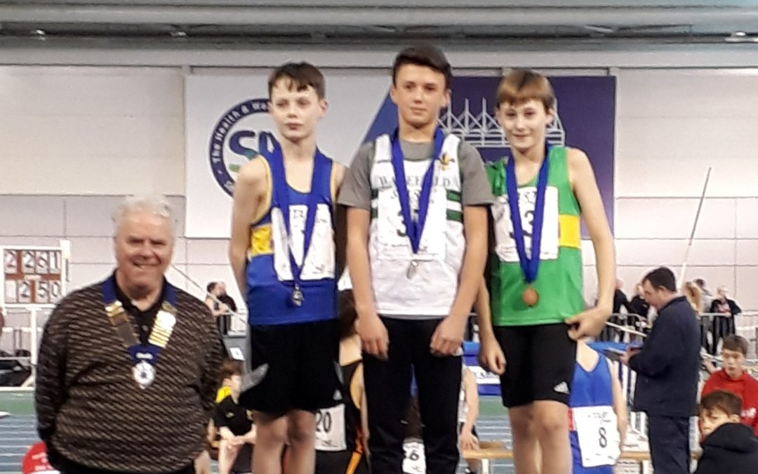 Northern U15/U13 Indoor Championships Report