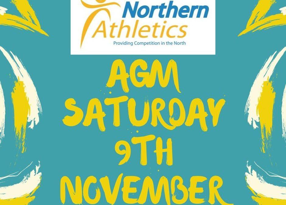 Northern Athletics AGM – Useful Information