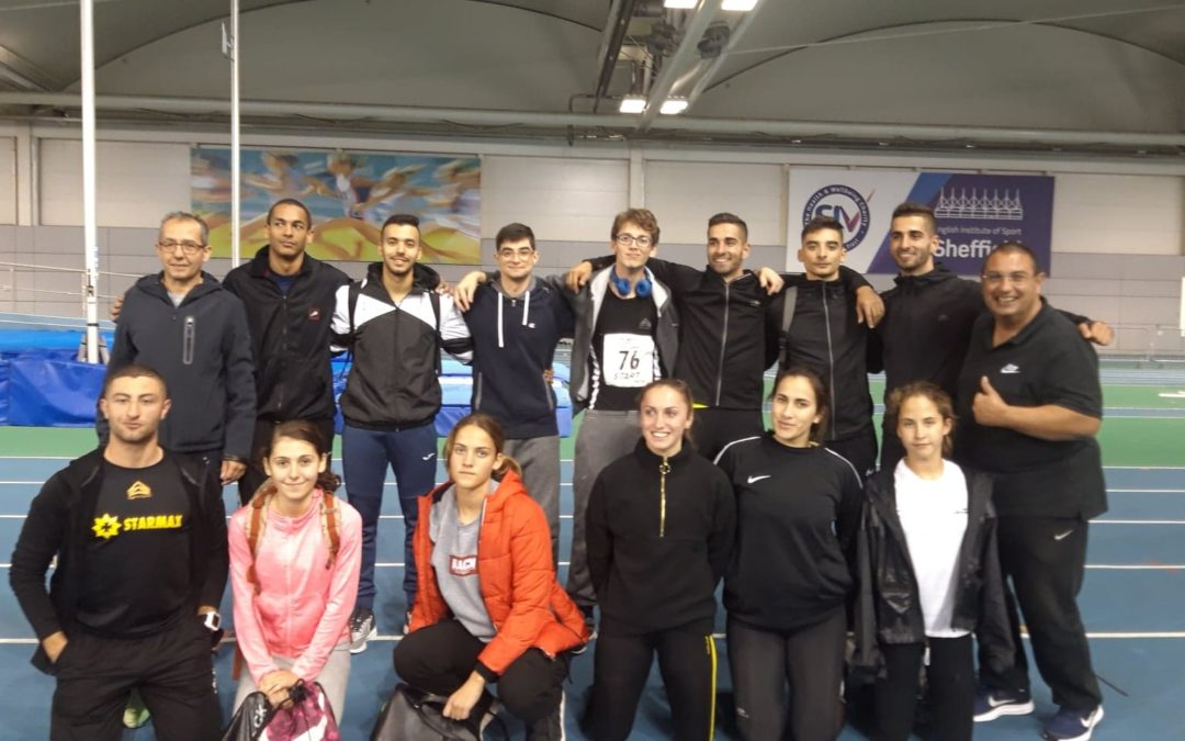 Northern Athletics Indoor Open 2 – RESULTS 07/12/2019
